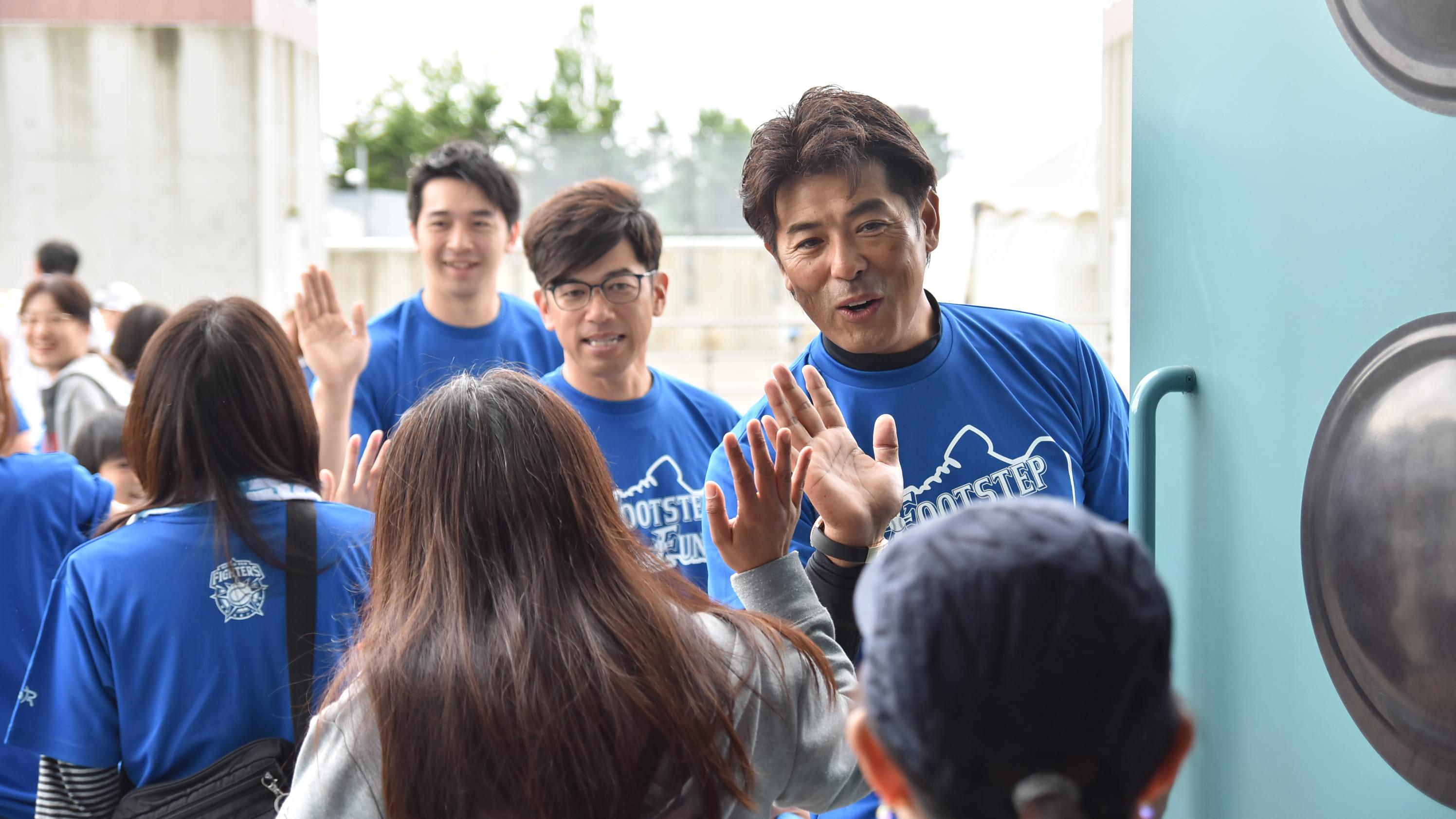 Hokkaido Nippon-ham fighters Atsunori Inaba